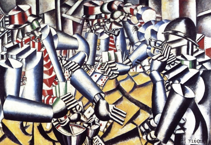 The Card Players, Fernand Leger 1917